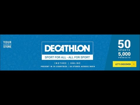 37a0514e5 Your Sports Store- Decathlon Sports India - YouTube