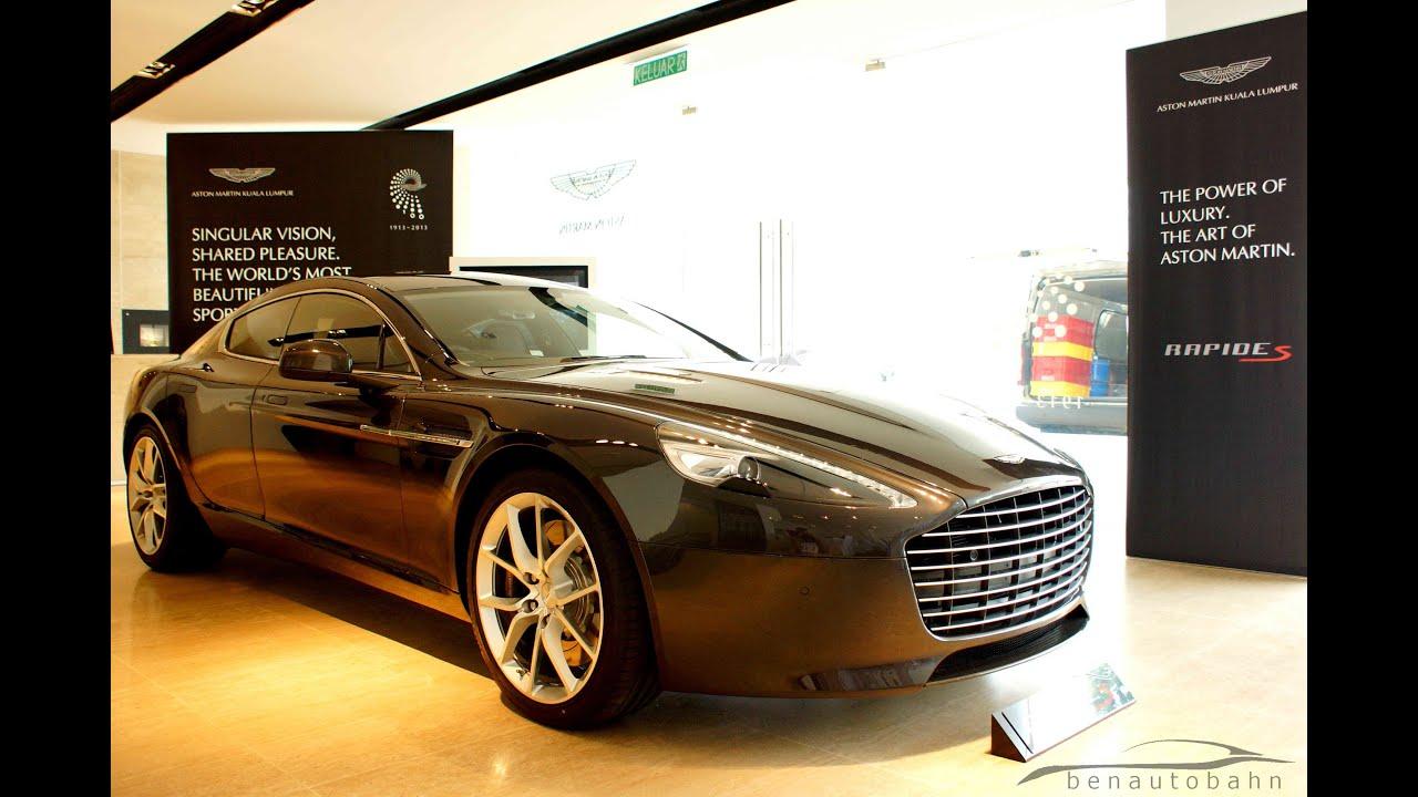 Aston Martin Rapide S Media Preview In Malaysia YouTube - Napleton aston martin