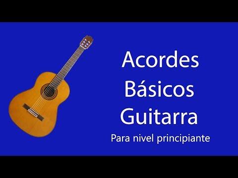 Tutorial para guitarra acordes basicos