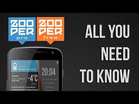Zooper Widget Apps On Google Play