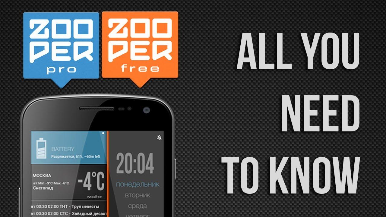 Zooper Widget - PageBD Com