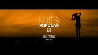 Download Video Live Streaming | Miss Popular 2018: Next Top Model - Open Casting (Part 1) MP3 3GP MP4