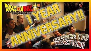 Dragon Ball Super Ep.110 Reaction ANNIVERSARY!!