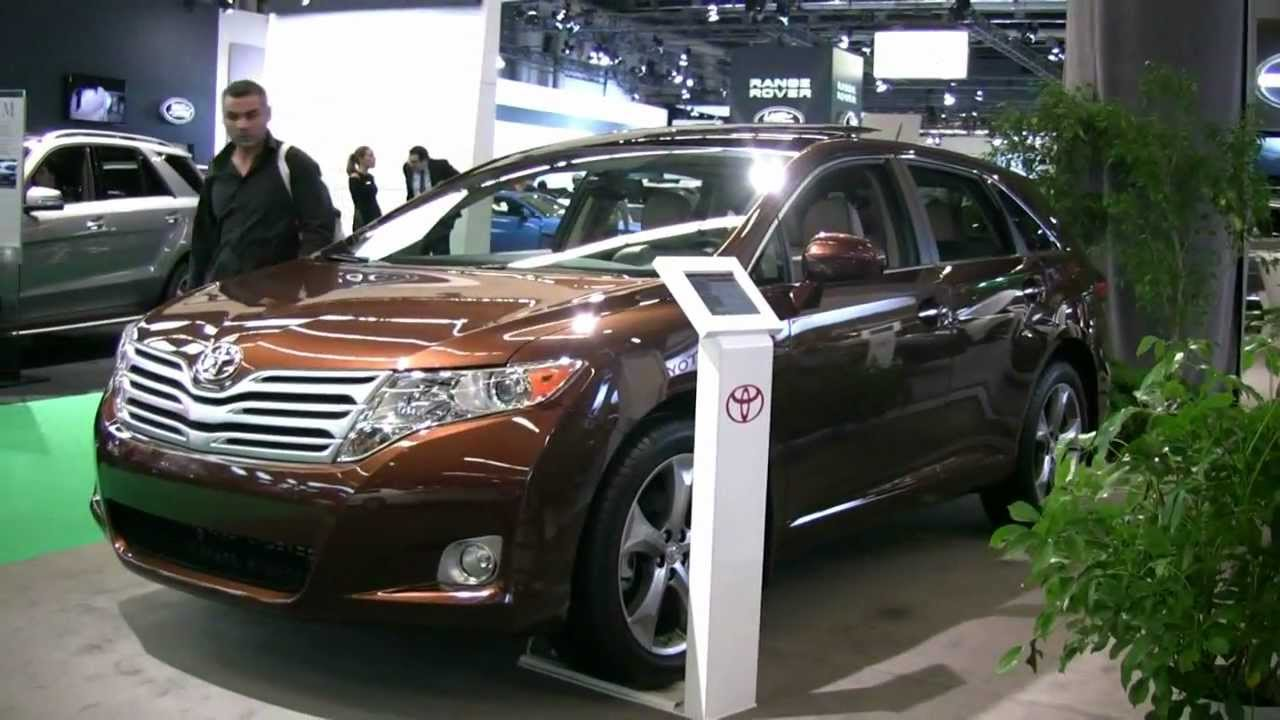 2012 toyota venza v6 awd exterior and interior at 2012 montreal auto show