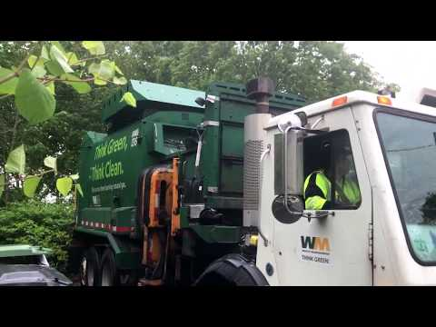Waste Management 104653 ~ CNG Mack LEU Labrie Automizer ASL