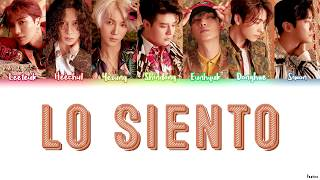 Download Lagu SUPER JUNIOR FT. LESLIE GRACE (슈퍼주니어) - LO SIENTO Lyrics (HAN/ROM/ENG) Mp3