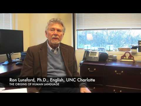 "Ron Lunsford, Ph.D., ""The Origins of Human Language"""