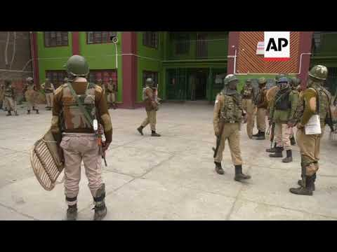 Council elections in Indian-controlled Kashmir are marred by violence