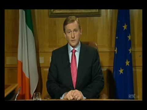 Enda Kenny's address to the Irish Nation (Alternative)
