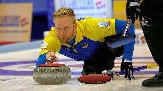CURLING: SUI-SWE Euro Chps 2015 - Men  Gold