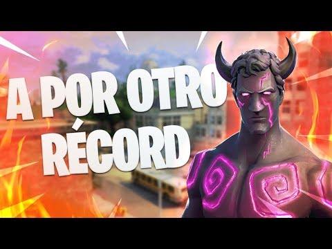 ¡INTENTANDO SUPERAR el NUEVO RÉCORD de ESPAÑA en SOLO vs SQUADS!