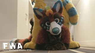 Kiba's Furry Weekend Atlanta 2016 Con Video (FWA2016)