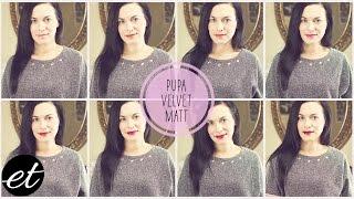 Nuova Pupa Velvet Matt - Swatches e Considerazioni // ElenaTee Thumbnail