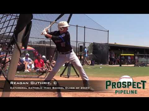 Reagan Guthrie Prospect Video,C, Cathedral Catholic High School Class of 2020