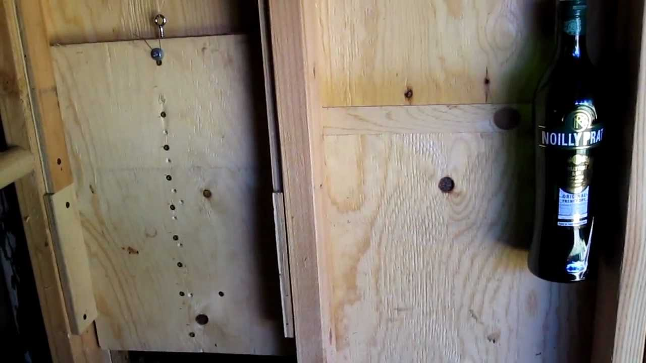 Automatic Coop Door With Counterweight Funnycat Tv