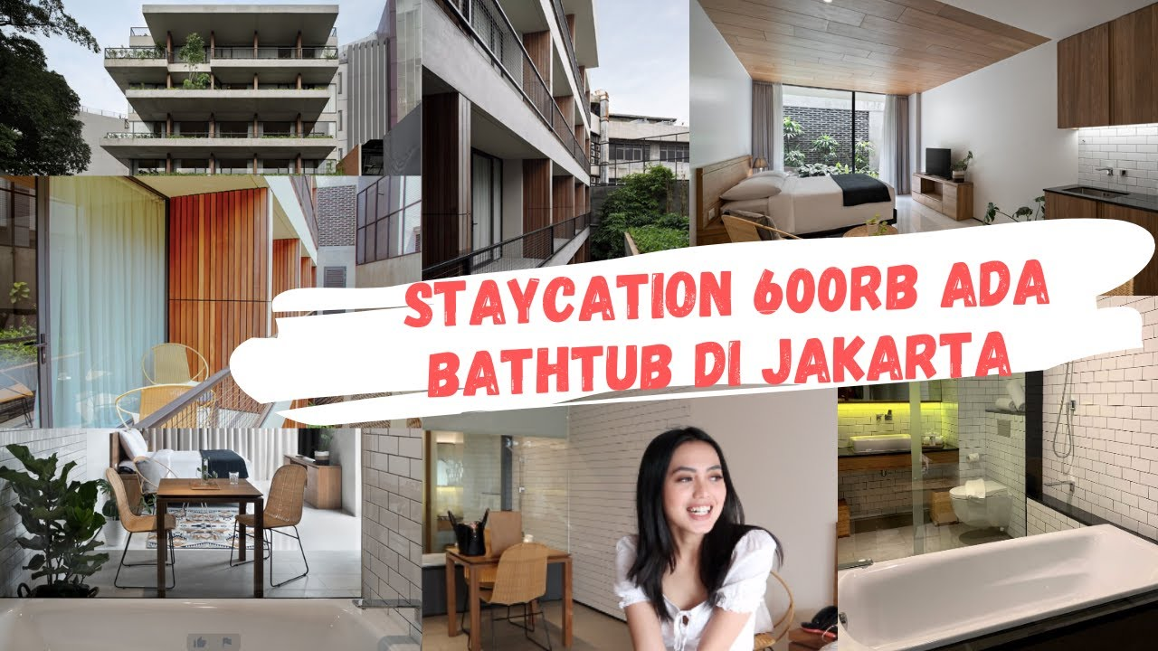 Hotel Murah Ada Bathtub Di Jakarta Cuma 600rb Hotel Instagramable Staycation Di Nagomi Suites Youtube
