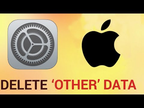 How to delete 'other' data on iPhone and iPad - YouTube