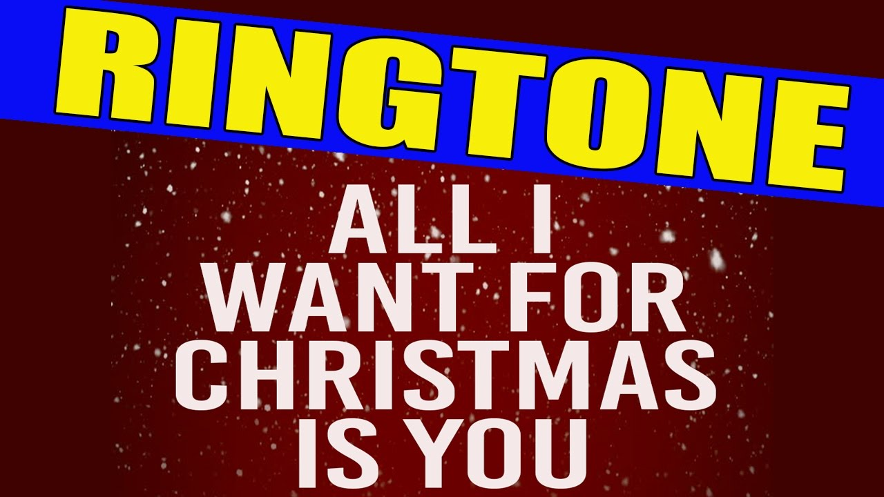 all i want for christmas is you ringtone - All I Want For Christmas Is A Hippopotamus Ringtone