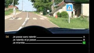 Code de la route - Pieges de l'examen 1 correction