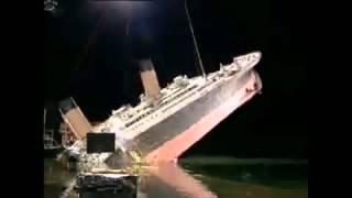 Как Снимали Сцену Разлома Титаника?