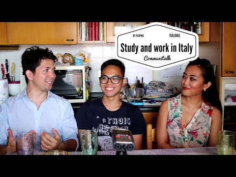 Communitalk #1 - Filipinos in Italy - Work and study in Italy
