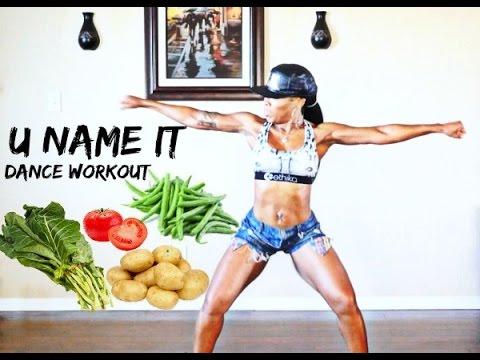 U Name It Challenge Dance Workout (with Tutorial) -Keaira LaShae