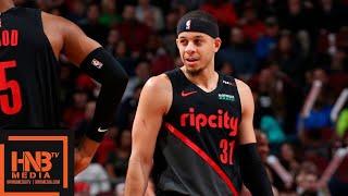 Chicago Bulls vs Portland Trail Blazers Full Game Highlights | March 27, 2018-19 NBA Season