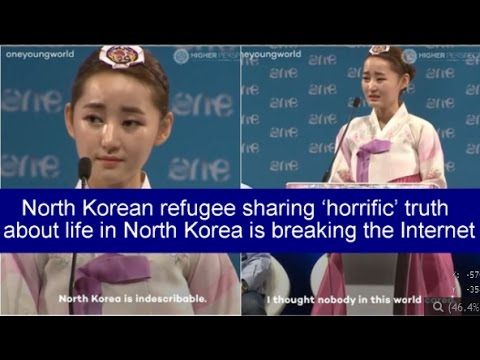 North Korean refugee sharing 'horrific' truth about life in North Korea is breaking the Internet