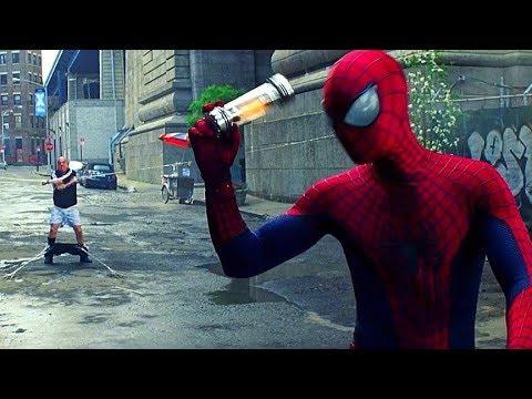 Spider Man Vs Rhino The Amazing Spider Man 2 2014 Movie Clip Hd Youtube