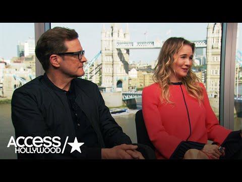 Renée Zellweger & Colin Firth Talk 'Bridget Jones'