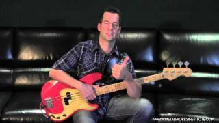 how to play walking bass lines bass tutorial
