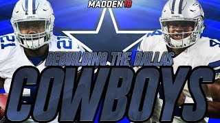 Madden 18 Connected Franchise | Rebuilding The Dallas Cowboys | ONLY SUPERSTAR DRAFT PICKS!