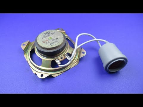 Electrical Science Free Energy generator Using Speaker Magne
