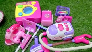 MINI HOUSEHOLD TOYS SET FOR KIDS - HOME APPLIANCE TOYS- WASHING MACHINE TOYS FOR KIDS
