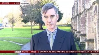 Jacob Rees Mogg suggests the chancellor has made a grave error