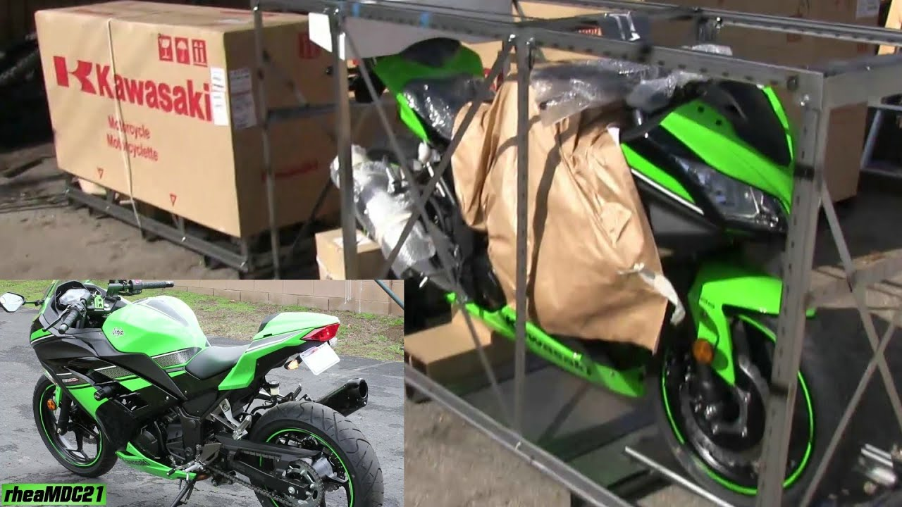 My Kawasaki Ninja 300 Special Edition has finally Arrived! + Poverty