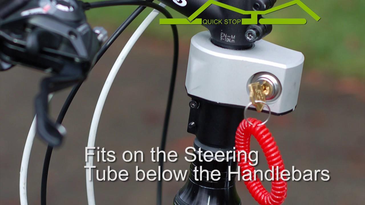Quick Stop Bike Lock Introduction Fiets