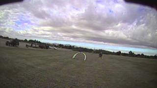 Trying to fly 180 in 35MPH Wind with FPVModel Race Gates