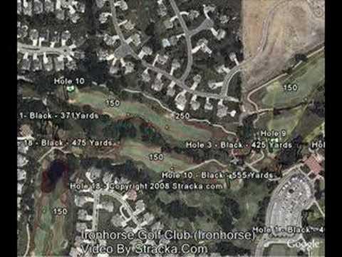 """Ironhorse Golf Club (Ironhorse) "" Flyover Tour"