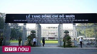 TPHCM cử hành trọng thể lễ truy điệu Nguyên Tổng bí thư Đỗ Mười