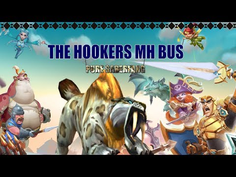 Lords Mobile || The Hookers MH Bus