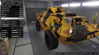 GTA 5 DLC Vehicle Customization (HVY APC) (Gunrunning)