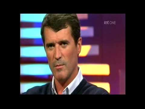 Roy Keane On The Late Late Show 01-05-09 part 1