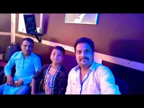 Singer Rishu Babu Damodar Raao Live Recording Studio Hindi Song