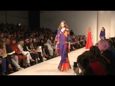 Ossie Clark Fashion Show 2008