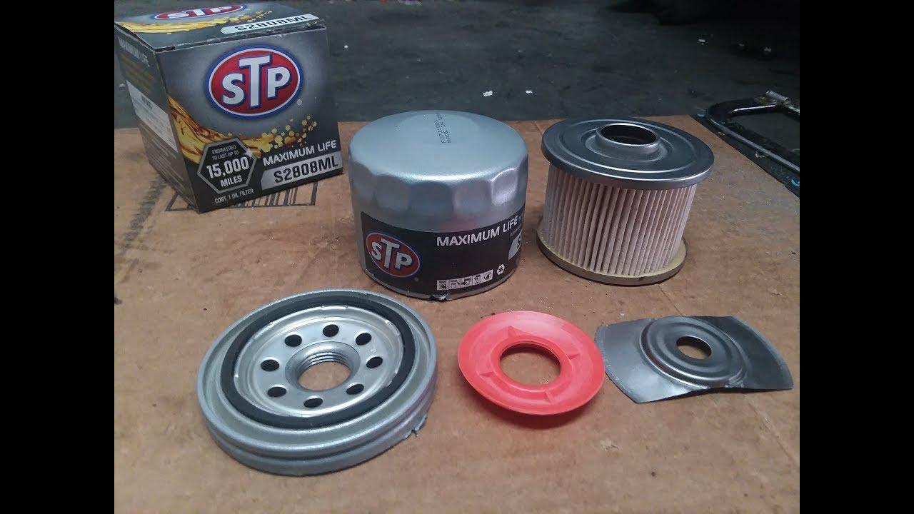 STP Maximum Life Oil Filter Cut Open!