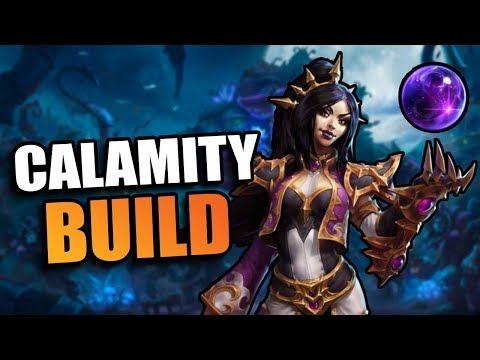 Li-Ming - calamity build // Heroes of the Storm