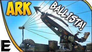 ARK Survival Evolved Update ➤ BALLISTA, ELEVATOR, & PLESIOSAUR PLATFORM UNDERWATER BASE!?