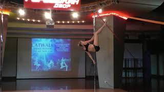 Анна Коржевина - Catwalk Dance Fest IX[pole dance, aerial]  12.05.18.