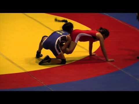 2014 Junior Pan-American Championships: 44 kg Angela Toribo (PER) vs. Jahaira Cedeno (ECU)